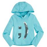 Emoticon Hooded Top