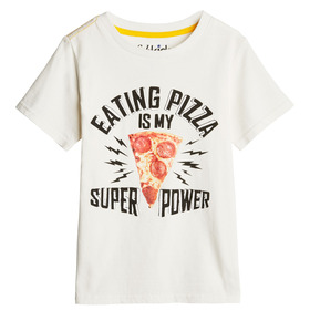 Pizza Power Graphic Tee