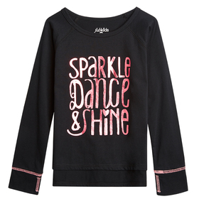 Sparkle Graphic Top
