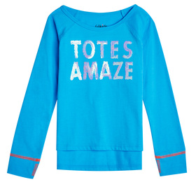 Totes Amaze Graphic Top