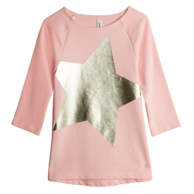 Foil Star Graphic Tunic