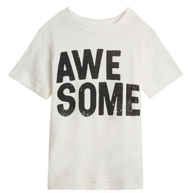 White Awesome Tee