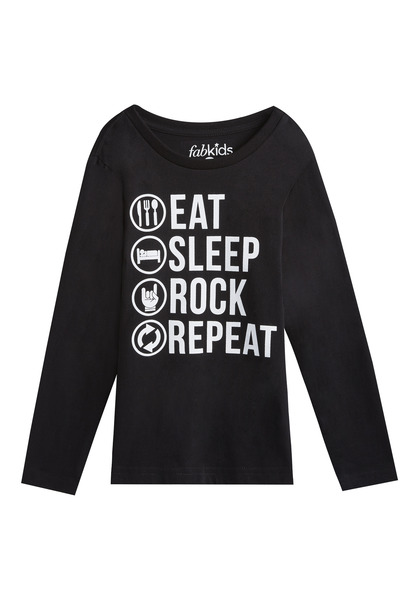 Eat Sleep Rock Tee