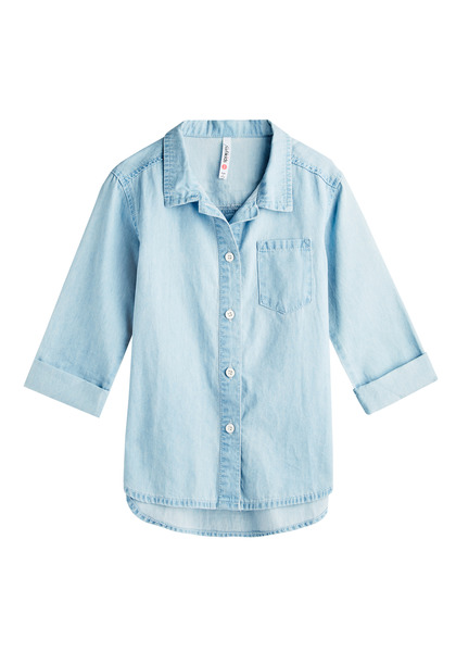 Drapey Chambray Shirt