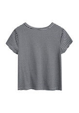 Striped Lips Pocket Tee