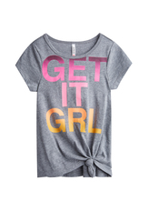 Get It Girl Knotted Tee