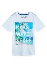 Rays Waves & Baes Tee