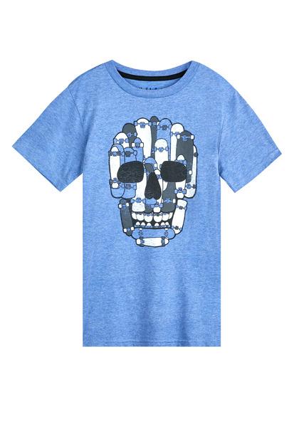 Skateboard Skull Tee