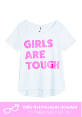 Girls Are Tough Graphic Tee