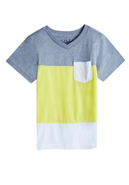 Colorblock Pocket Vee