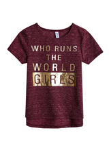 Girls Run The World Tee