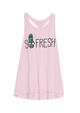 So Fresh Knot Back Graphic Tank