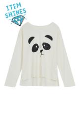 Panda Glitter Tee