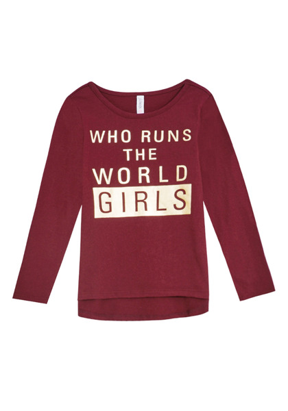 Girls Run The World Tee