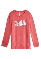 Feelin' Awesome Tunic Sweatshirt