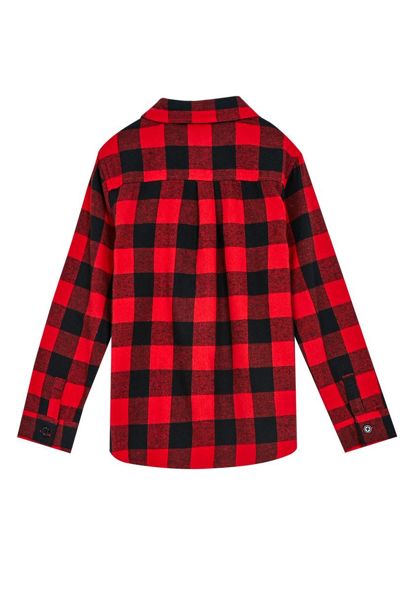 Buffalo check flannel fabkids for Buffalo check flannel shirt jacket