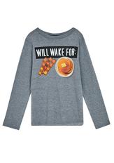 Will Wake For Breakfast Tee