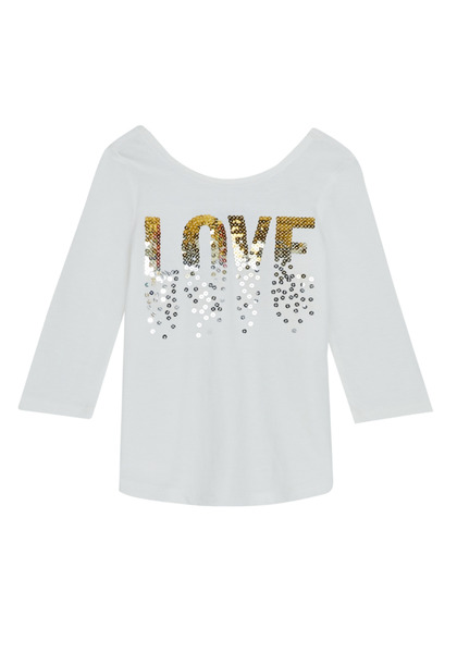 Love Scoop Neck Tee