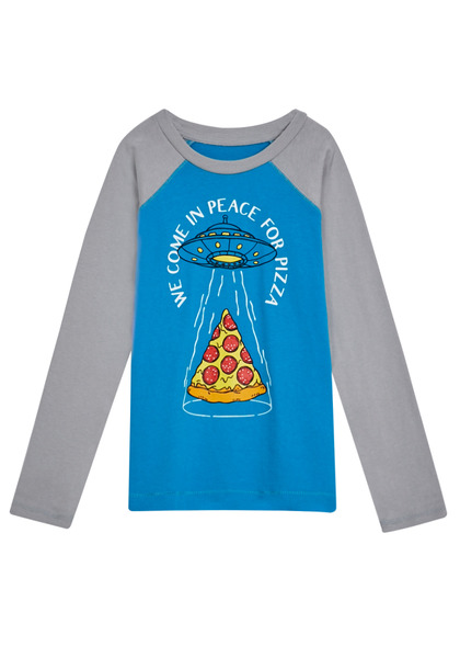 Peace For Pizza Tee