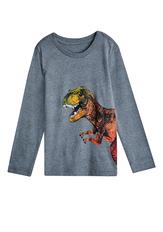 Grey Dino Tee