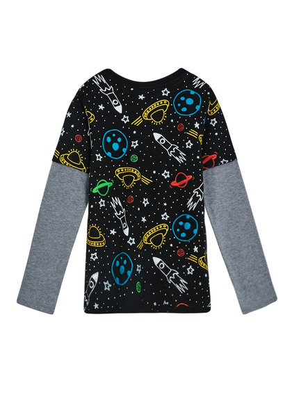 Space 2-In-1 Tee