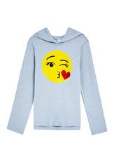 Glitter Emoji Hoodie