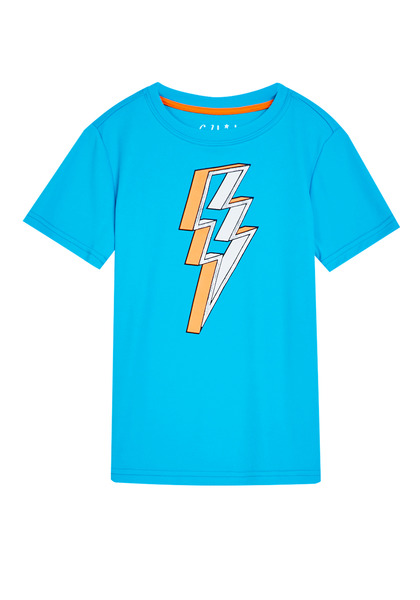 Lightning Bolt Mesh Active Tee