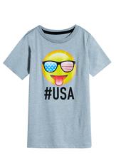 #Usa Emoji Tee