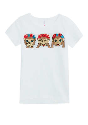 Monkey Flower Crown Tee