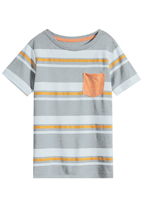 Stripe Basic Pocket Tee