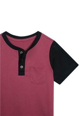 Colorblock Pocket Henley