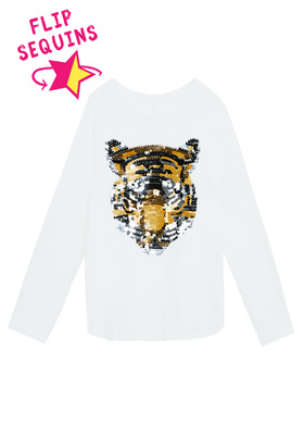 Tiger Long Sleeve Tee