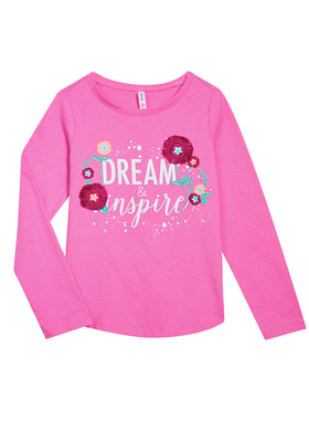 Dream & Inspire Long Sleeve Tee