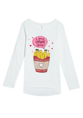 French Fries Long Sleeve Tee