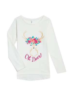 Oh Deer Long Sleeve Tee