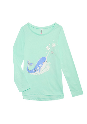 Narwhal Long Sleeve Tee