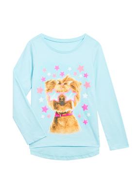 Star Puppy Long Sleeve Tee