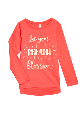 Dreams Blossom Long Sleeve Tee