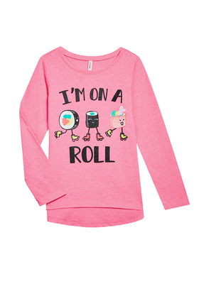 I'm On A Roll Long Sleeve Tee