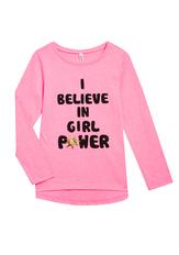 Girl Power Long Sleeve Tee