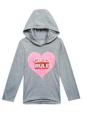 Girls Rule Hoodie Tee
