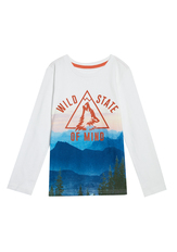 Wild State Of Mind Long Sleeve Tee