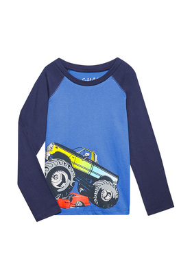 Monster Truck Long Sleeve