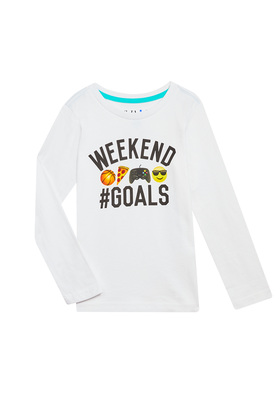 Weekend Goals Long Sleeve