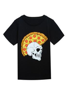 Pizza Skull Tee