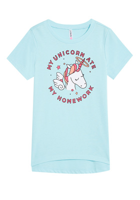 Unicorn Homework Tee