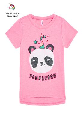 Flip Sequin Pandacorn Tee