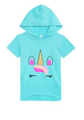 Unicorn Hoodie Tee