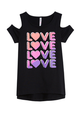 Cold Shoulder Love Top
