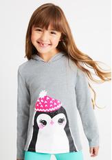 Penguin Hoodie Tee